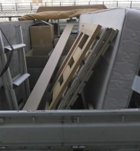 久留米市で引越し不要品の回収の写真