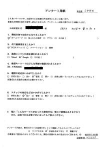福岡県博多区にて不用品の回収 お客様の声