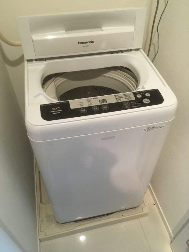 【北九州市】洗濯機1台の回収☆お問い合わせから2時間程度で回収作業が終わり、スピーディーな対応にご満足いただけました!