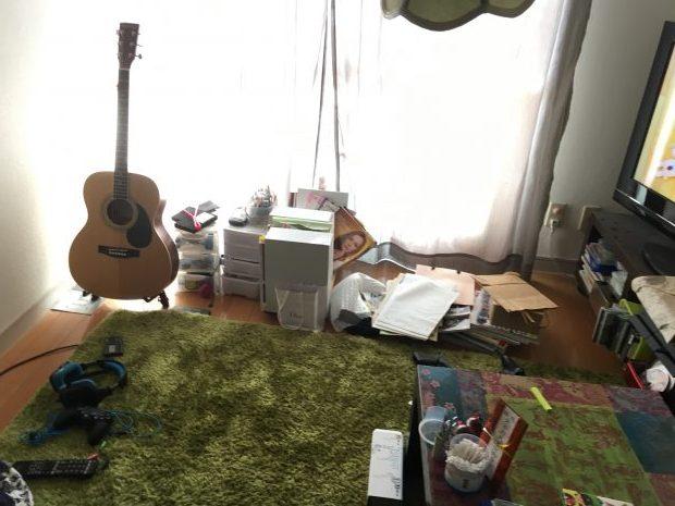 【北九州市】2トントラック1台程度の不用品回収☆大きな家具から雑貨まであっという間に回収し、片付いたお部屋にご満足いただけました!