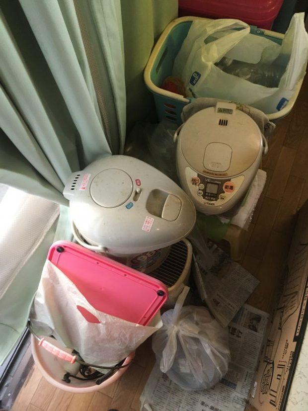 【北九州市】ポット、ラジカセなどの不用品回収☆心配していた追加費用もかからずに処分することができご満足いただけました!