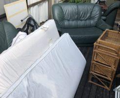 【北九州市】ベッド、ソファーなどの不用品回収☆翌日の対応で、処分を急いでいたお客様にご満足いただけました!