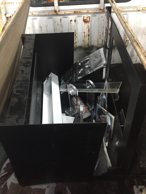 【鹿追町】スチール棚の不用品回収・処分ご依頼 お客様の声
