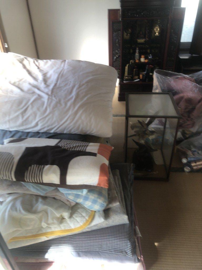 【築上郡吉富町】仏壇や家具の処分☆処分品の増減にもしっかり対応できご満足いただけました!