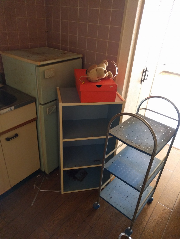 【北九州市】引っ越しに伴う不用品回収とハウスクリーニング☆お部屋がすっかり片付きお喜びいただけました!