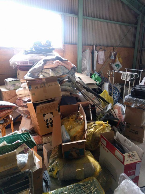 【糸島市】倉庫内の不用品回収☆他社よりも圧倒的にお得な料金で大量の不用品を処分でき、今回もお客様にご満足いただけました!
