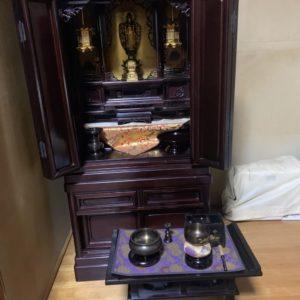【北九州市】仏壇の回収と御霊抜きのご依頼☆迅速な対応に大変ご満足いただけました!