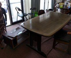 【苅田町】ダイニングテーブルなど不用品回収処分ご依頼 お客様の声