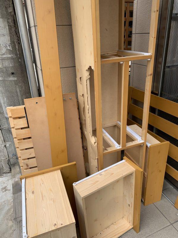 【北海道松前町】シングルベッド枠1点の回収ご依頼☆作業担当の人柄がよかったとお喜び頂けました。