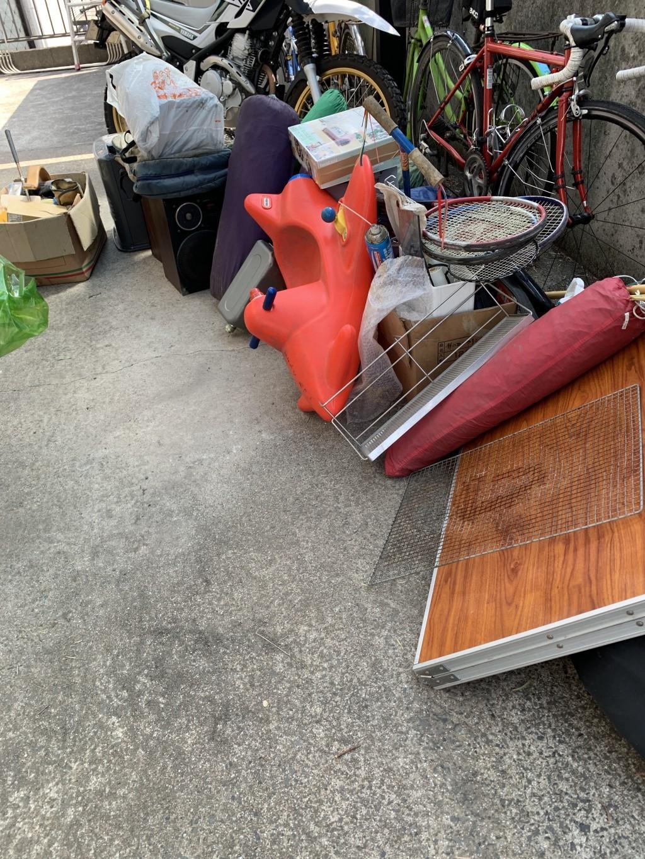 【北九州市小倉南区】物置の中の不用品回収☆行政で処分しにくいものが片付きお喜びいただけました!