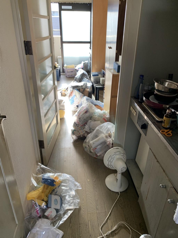 【福岡市城南区】不用品処分とハウスクリーニングご依頼 お客様の声
