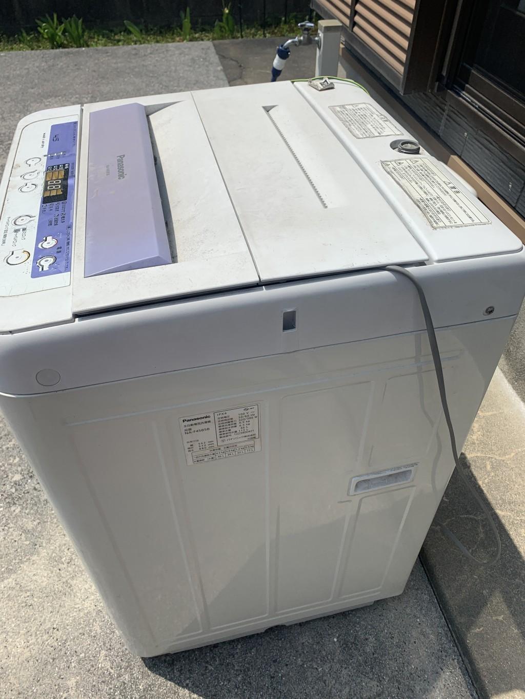 【白糠町】洗濯機一台の回収 お客様の声