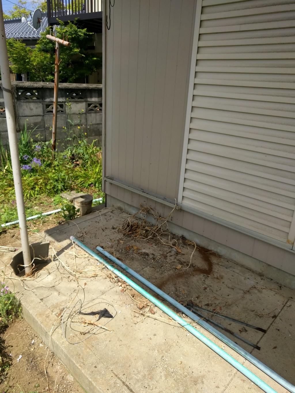 【北九州市八幡西区】お庭の片付けと不用品回収ご依頼 お客様の声