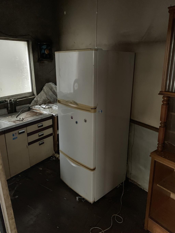 【むかわ町】冷蔵庫一点の回収 お客様の声