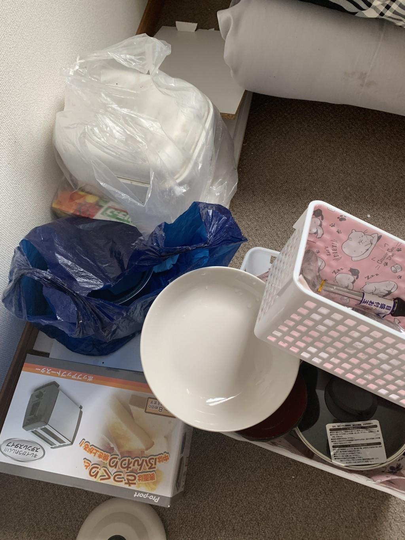 【北九州市小倉北区】ポットや布団など回収・処分ご依頼 お客様の声