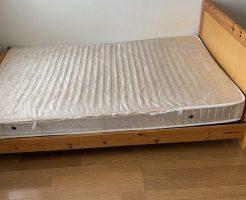【福岡市中央区】セミダブルベッドの不用品回収処分 お客様の声