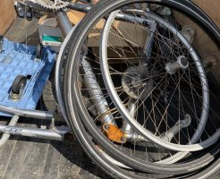 【福岡市西区】自転車の不用品回収処分 お客様の声