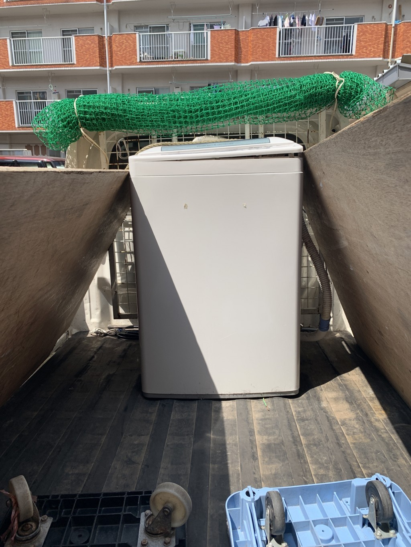 【北海道江差町】洗濯機の出張回収・処分ご依頼 お客様の声