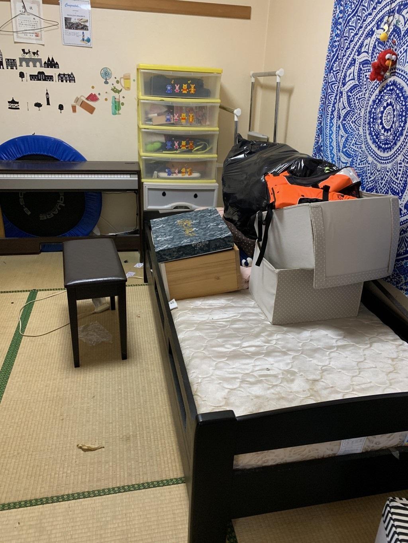 【大野城市】遺品整理でシングルベッドマット、ソファーなどの出張不用品回収・処分ご依頼