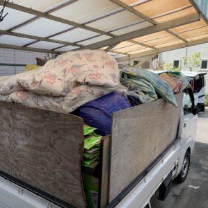 【志免町】軽トラック二台分の不用品回収・処分ご依頼 お客様の声