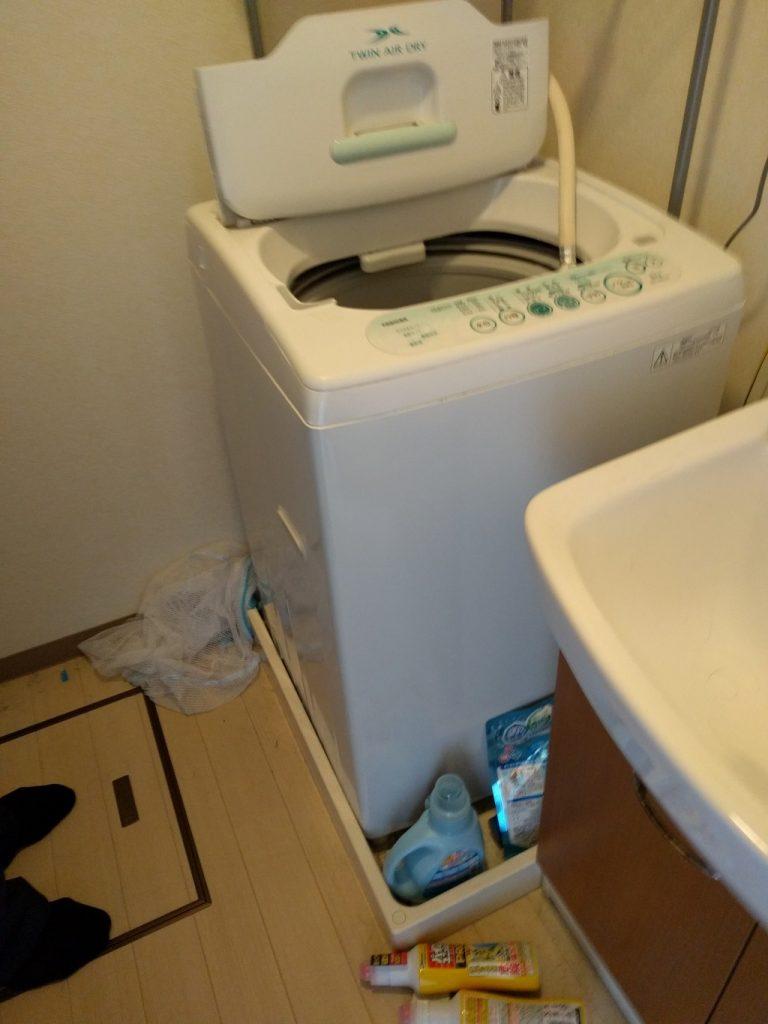 【直方市】遺品整理で冷蔵庫、洗濯機、食器棚の出張不用品回収・処分ご依頼
