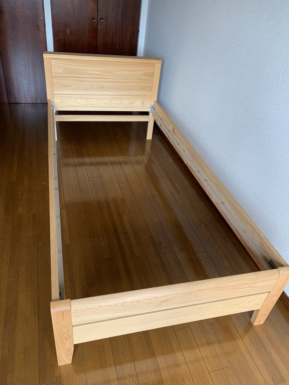 【福岡市中央区】シングルベッド・ベビーベッドの回収 お客様の声
