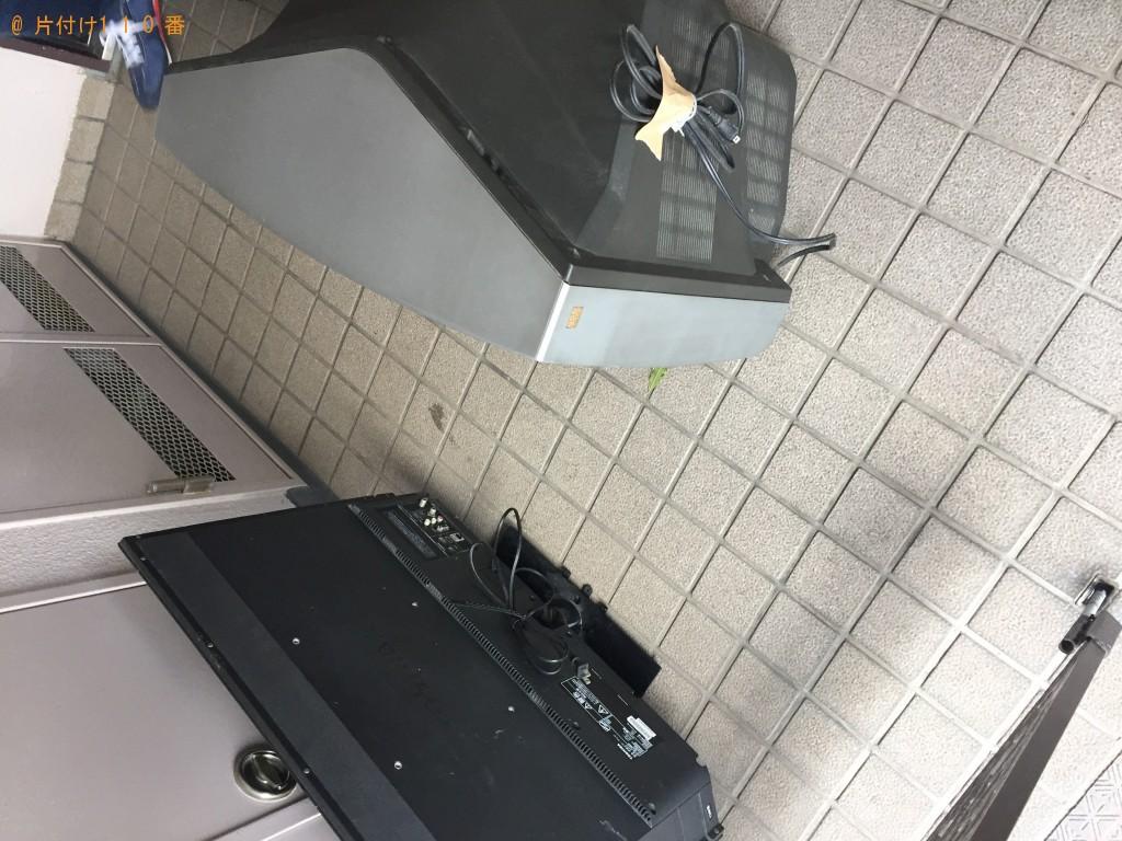 【福岡市東区】ベッドとテレビの不用品回収処分 お客様の声