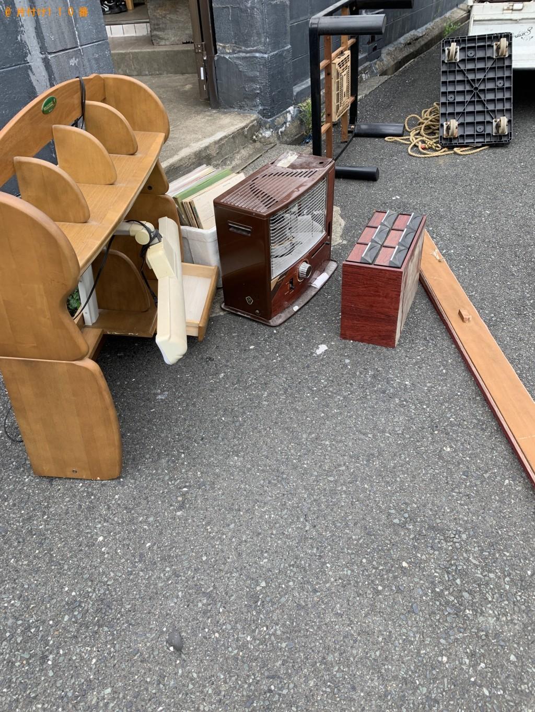 【北九州市小倉南区】学習机、ソファー、ストーブなどの出張不用品回収・処分ご依頼
