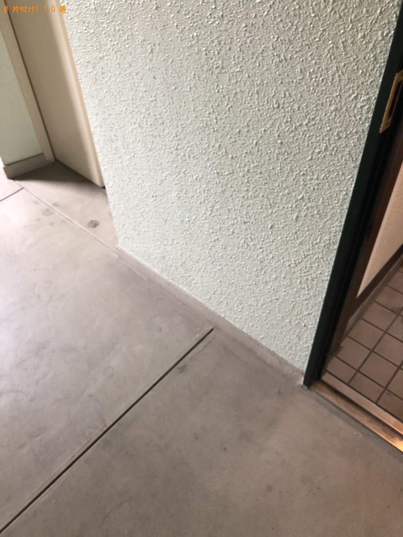【加須市】遺品整理に伴い洗濯機と折り畳みベッドの処分 お客様の声