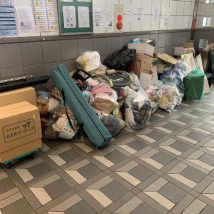 【行橋市中央】衣類の出張回収・処分とお片付けのご依頼 お客様の声