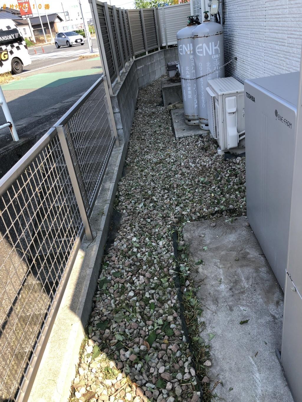 【北九州市小倉南区】草刈り作業ご依頼
