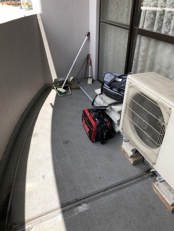 【北九州市小倉南区】電気ストーブ、ゴルフバッグ、ボーリングボール等の回収・処分 お客様の声