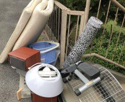 【北九州市八幡西区】シングルベッドマットレス、照明、CDコンポ等の回収・処分 お客様の声