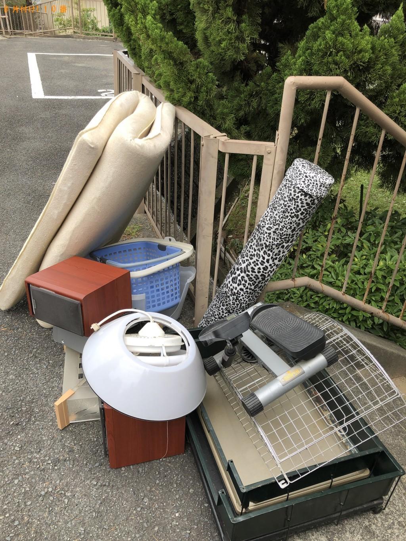 【戸田市】シングルベッドマットレス、照明、CDコンポ等の回収・処分 お客様の声