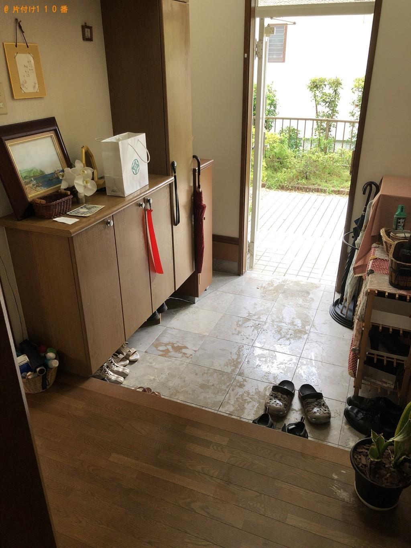 【遠賀町】冷蔵庫、テレビ、本棚等の回収・処分 お客様の声