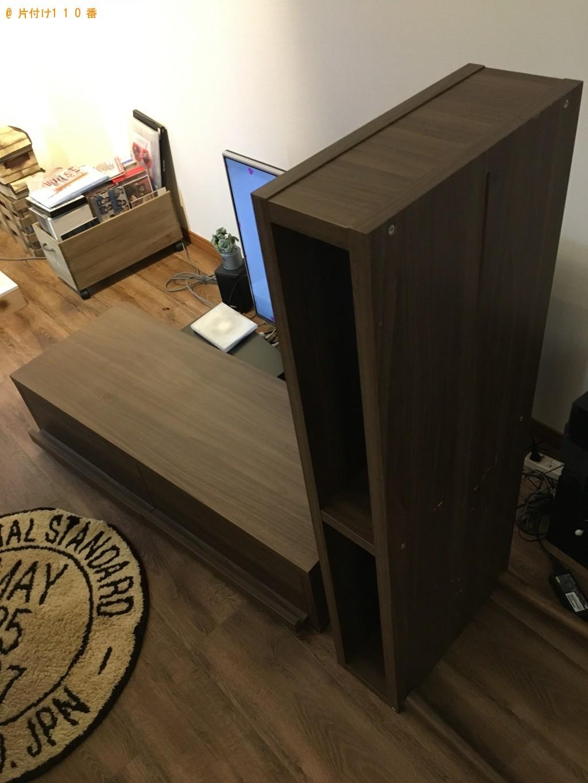 【西会津町】シングルベッド、テレビ台、掃除機の回収・処分 お客様の声