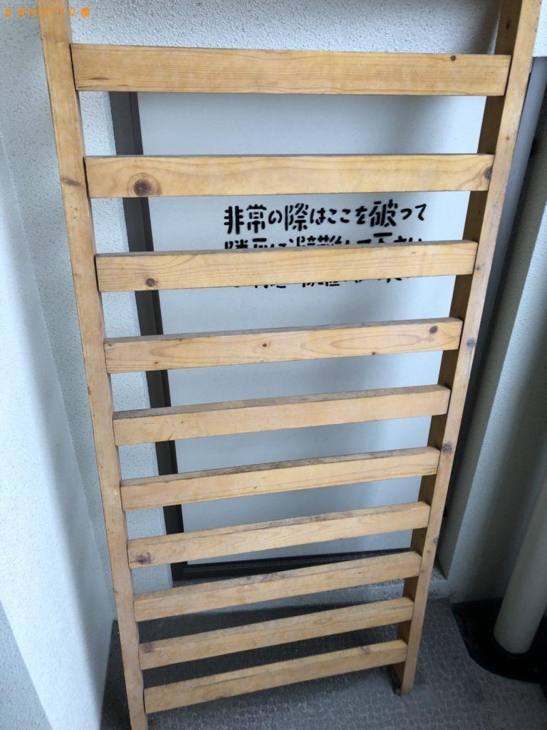 【福岡市城南区】遺品整理でダブルベッドフレーム、家庭ごみ、植木鉢の回収・処分 お客様の声