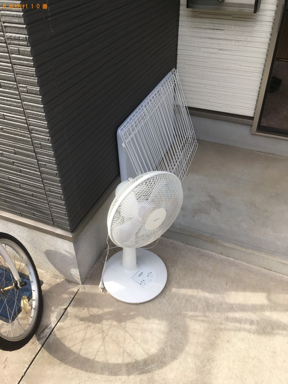 【北九州市小倉北区】テレビ台、ファンヒーター、扇風機等の回収・処分 お客様の声