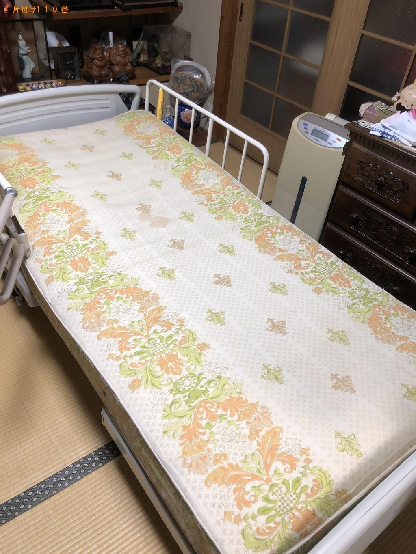 【湯川村】介護ベッドの出張不用品回収・処分ご依頼