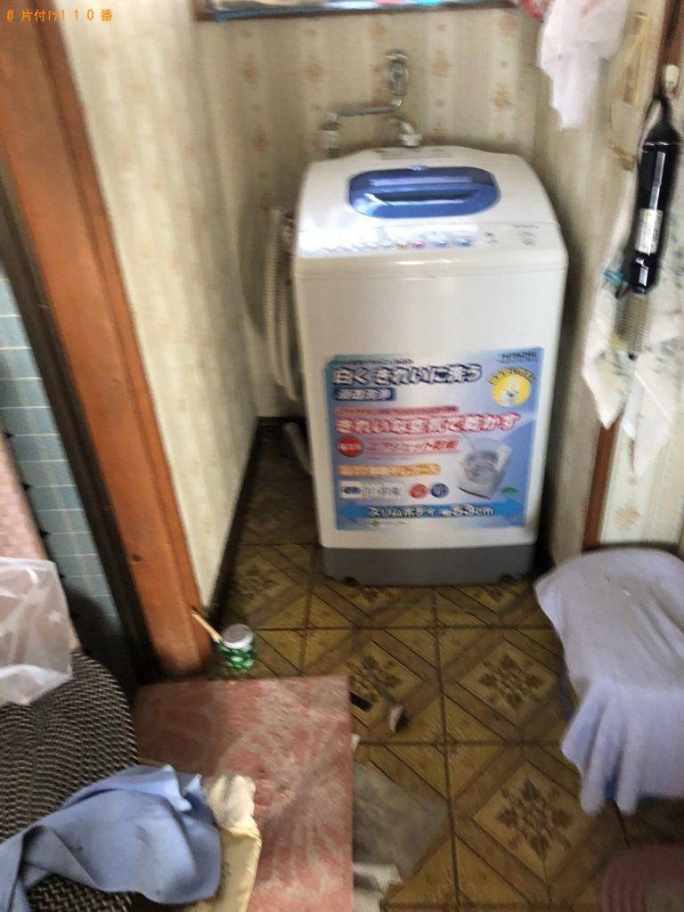 【中間市】遺品整理に伴い冷蔵庫、洗濯機の出張不用品回収・処分ご依頼