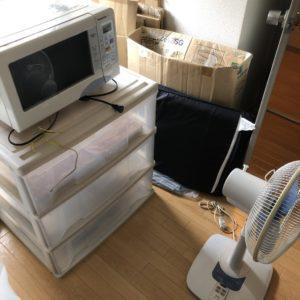 【北九州市小倉南区】電子レンジ、ビデオデッキ、扇風機などの回収・処分 お客様の声
