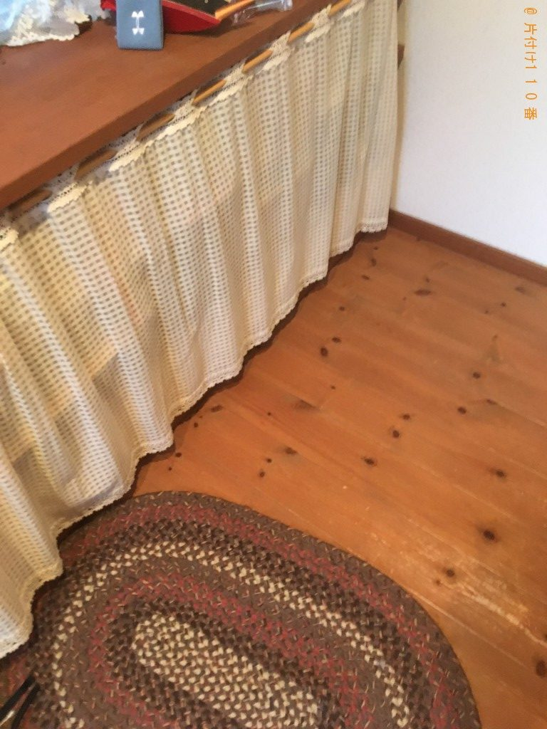 【北九州市八幡西区】木製の机、木等の回収・処分ご依頼 お客様の声