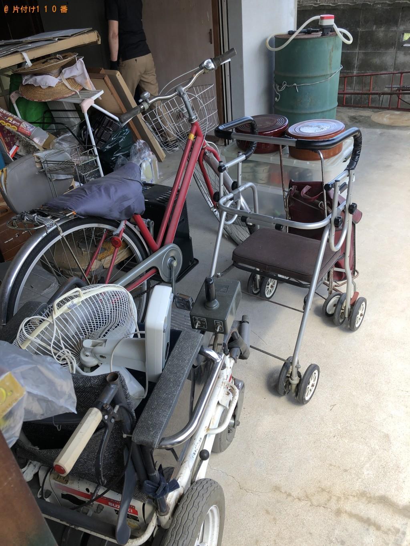 【田川郡大任町】自転車、シルバーカー、扇風機等の回収・処分ご依頼