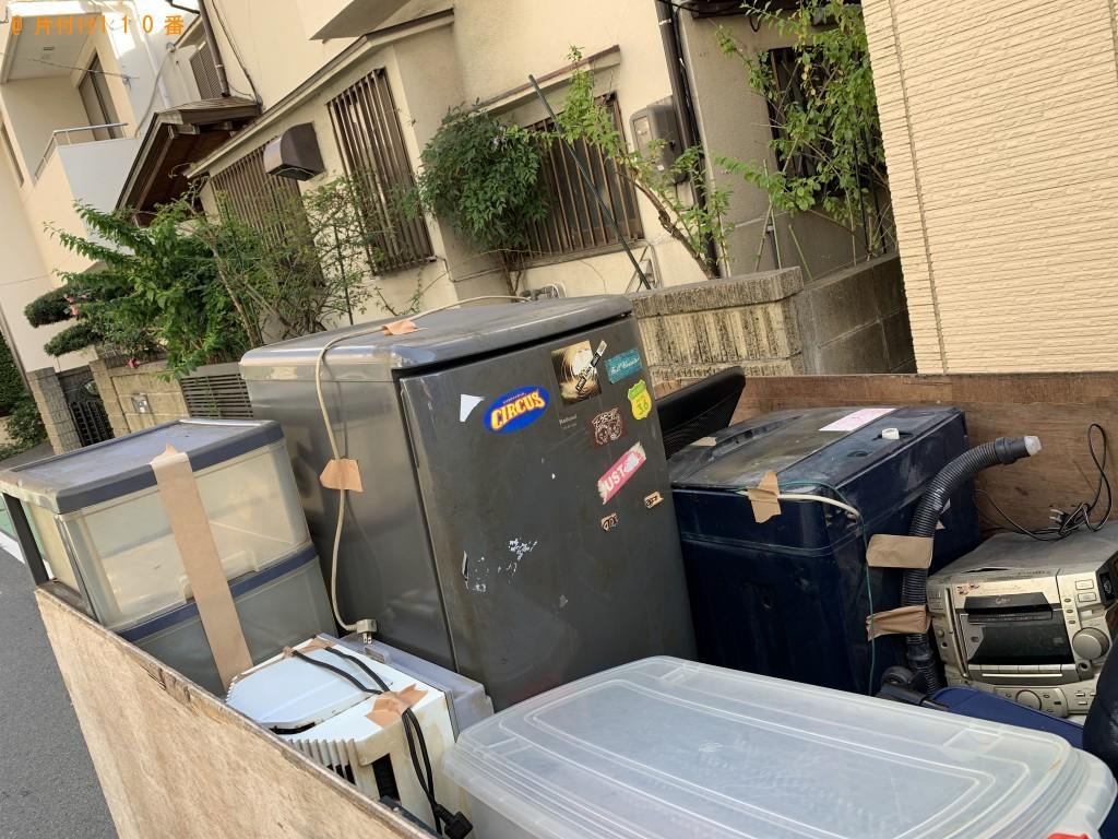 【福岡市中央区】冷蔵庫、洗濯機、エアコン、衣装ケース等の回収