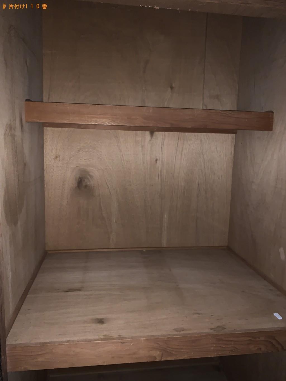 【福岡市博多区】食器棚、ドレッサー、テレビ台、布団等の回収・処分