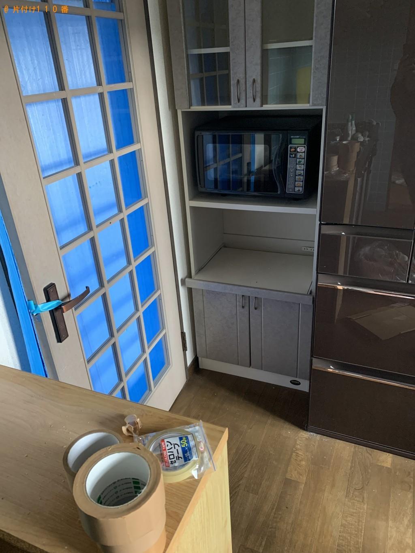 【糸田町】食器棚、ドレッサー、テレビ台、布団等の回収・処分