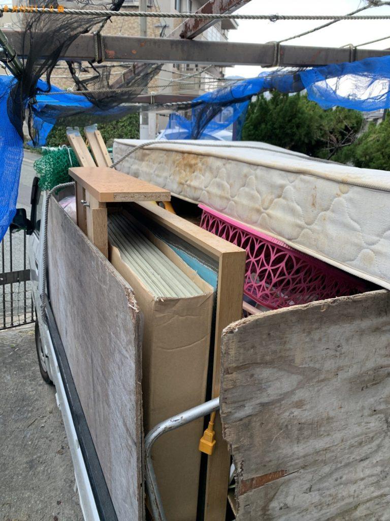 【銚子市】遺品整理に伴いパソコン、ベッドマットレス等の回収・処分ご依頼