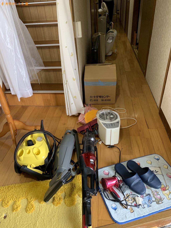 【朝倉郡筑前町】スチーム洗浄機、掃除機、CDプレーヤーの回収