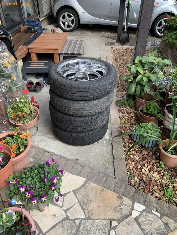 【福岡市博多区】自動車タイヤの回収・処分ご依頼 お客様の声