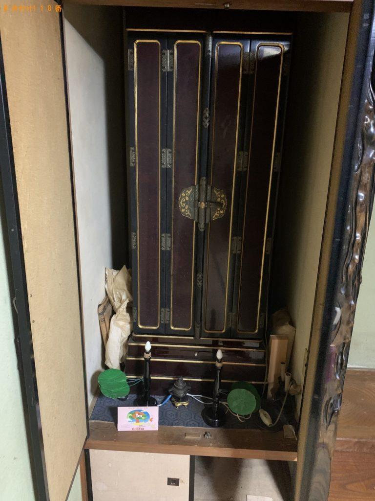 【春日市】遺品整理で仏壇の回収・処分ご依頼 お客様の声